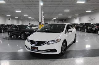 Used 2014 Honda Civic EX I BIG SCREEN I REAR CAM I BLIND SPOT ASSIST I SUNROOF for sale in Mississauga, ON
