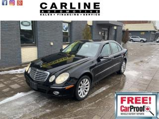 Used 2008 Mercedes-Benz E-Class 4dr Sdn 3.0L 4MATIC for sale in Nobleton, ON