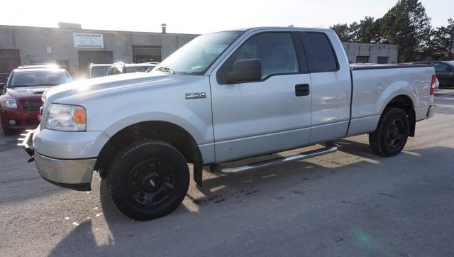 2005 Ford F-150 LARIAT SUPER CAB AUTO V8 *FREE ACCIDENT* ALLOYS CRUISE AUX BED COVER