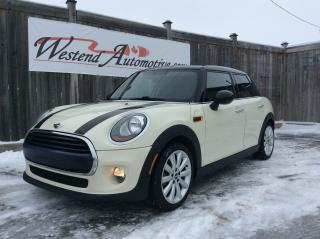 Used 2016 MINI Cooper Hardtop sunroof , low kms for sale in Stittsville, ON