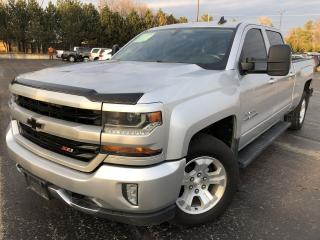 Used 2017 CHEV SILVERADO 1500 LT Z71 CREW CAB 4X4 for sale in Cayuga, ON