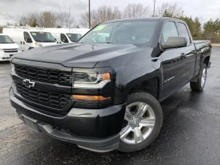 Used 2016 Chevrolet Silverado 1500 Work Truck DBL CAB 4X4 for sale in Cayuga, ON