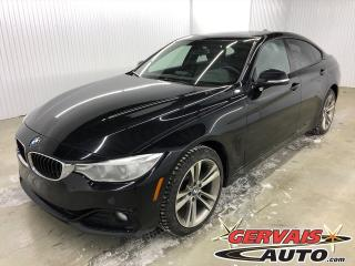 Used 2016 BMW 4 Series 428i xDrive Gran Coupe Sport Cuir Toit Ouvrant Mags Sport Line for sale in Shawinigan, QC