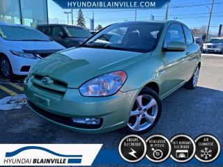 Used 2010 Hyundai Accent GL SPORT DÉMARREUR À DISTANCE, A/C, VITR for sale in Blainville, QC