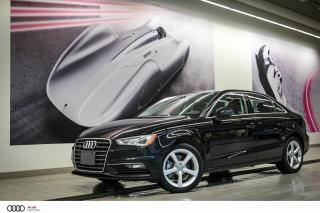 Used 2016 Audi A3 KOMFORT - 2.0 TFSI - AWD QUATTRO for sale in Sherbrooke, QC