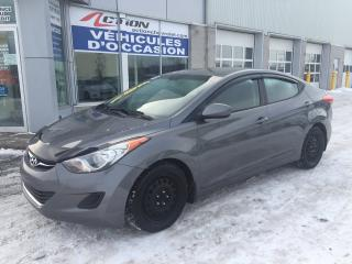 Used 2013 Hyundai Elantra GL AUTO A/C SIEGES CHAUFFANT ET PLUS for sale in St-Hubert, QC