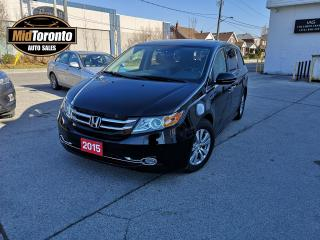 Used 2015 Honda Odyssey Touring | Power Sun Roof | Navi | Leather | DVD Entertainment | No Accidents | Excellent Condition for sale in North York, ON
