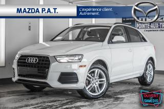 Used 2016 Audi Q3 CUIR+TOIT OUVRANT PANO+SIEGES CHAUFFANTS for sale in Montréal, QC