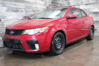 Used 2013 Kia Forte Koup SX - MANUELLE, CUIR, TOIT OUVRANT, BLUETOOTH for sale in St-Sulpice, QC