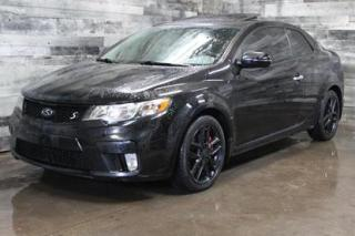 Used 2011 Kia Forte Koup MANUELLE,TOIT OUVRANT,CUIR,BLUETOOTH,SIÈGE CHAUFFA for sale in St-Sulpice, QC
