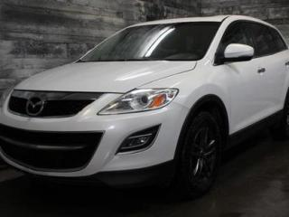 Used 2012 Mazda CX-9 7 PASSAGERS, AWD, CUIR, TOIT, SIÈGE CHAUFFANT, BLU for sale in St-Sulpice, QC