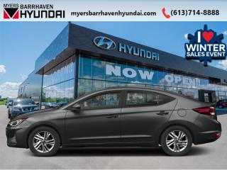 New 2020 Hyundai Elantra Essential IVT  - Heated Seats - $118 B/W for sale in Nepean, ON