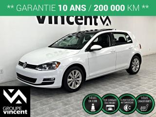 Used 2015 Volkswagen Golf COMFORTLINE CUIR TOIT PANO ** GARANTIE 10 ANS ** Look sportif! for sale in Shawinigan, QC