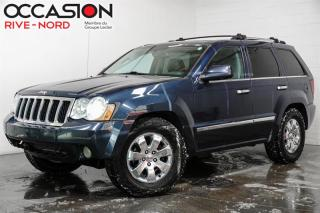 Used 2008 Jeep Grand Cherokee 4WD  Overland DIESEL for sale in Boisbriand, QC