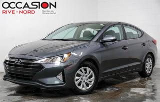 Used 2019 Hyundai Elantra Essential BLUETOOTH+CAM.RECUL+SIEGES.CHAUFFANTS for sale in Boisbriand, QC