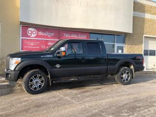 Used 2015 Ford F-350 Super Duty SRW Lariat 4x4 Crew Cab / Diesel / Sunroof / GPS Navigation for sale in Edmonton, AB