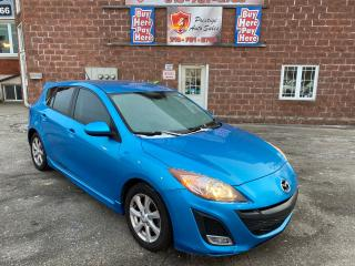 Used 2011 Mazda MAZDA3 HB SPORT GS/2.5L/6 SPEED/REDUCED/SAFETY INCLUDED for sale in Cambridge, ON