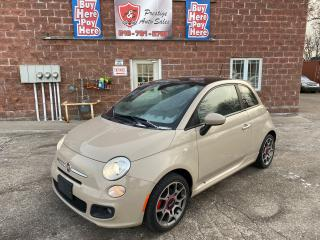 Used 2012 Fiat 500 Sport/2 SETS OF TIRES/REDUCED/SAFETY INCLUDED for sale in Cambridge, ON