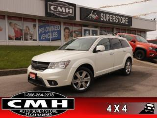 Used 2013 Dodge Journey R/T  AWD NAV ROOF LEATH 7-PASS HS P/SEAT for sale in St. Catharines, ON