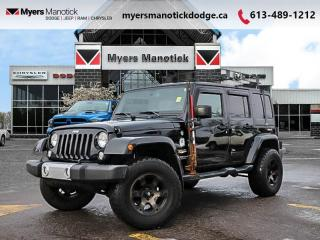 Used 2015 Jeep Wrangler Unlimited SAHARA  - Cruise Control - $228 B/W for sale in Ottawa, ON