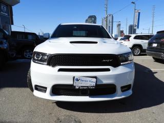 Used 2018 Dodge Durango SRT LAGUNA LEATHER/DVD/SUNROOF/TECH PACKAGE for sale in Concord, ON