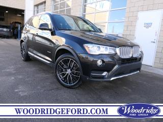 Used 2017 BMW X3 xDrive28i ***PRICE REDUCED*** 2.0L, PREMIUM PKG., WINTER TIRES INC., NO ACCIDENTS for sale in Calgary, AB