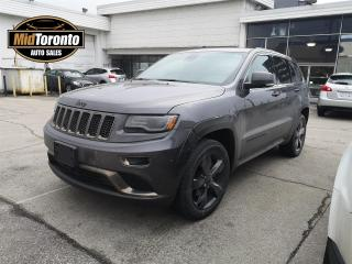 Used 2015 Jeep Grand Cherokee Overland 4WD | Nav | Roof | Leather | Black Package for sale in North York, ON