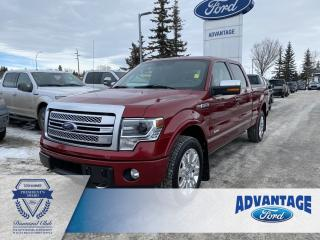 Used 2014 Ford F-150 Limited Leather Bucket Seats - Remote Start for sale in Calgary, AB