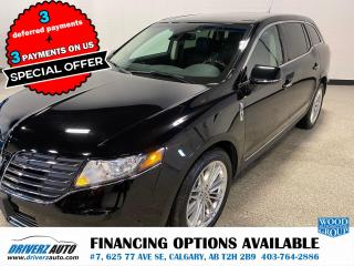 Used 2019 Lincoln MKT Reserve 3.5L Ecoboost, Adaptive cruise, lane keeping and lots more.. for sale in Calgary, AB