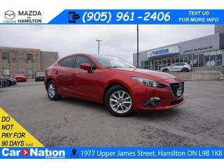Used 2014 Mazda MAZDA3 GS-SKY GS | SUNROOF | REAR CAM | SAFETY CERTIFIED for sale in Hamilton, ON