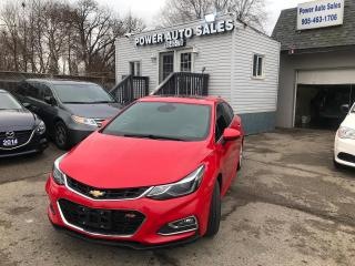 Used 2017 Chevrolet Cruze 4DR SDN 1.4L PREMIER W/1SF for sale in Brampton, ON