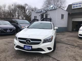 Used 2016 Mercedes-Benz CLA-Class 4DR SDN CLA 250 FWD for sale in Brampton, ON