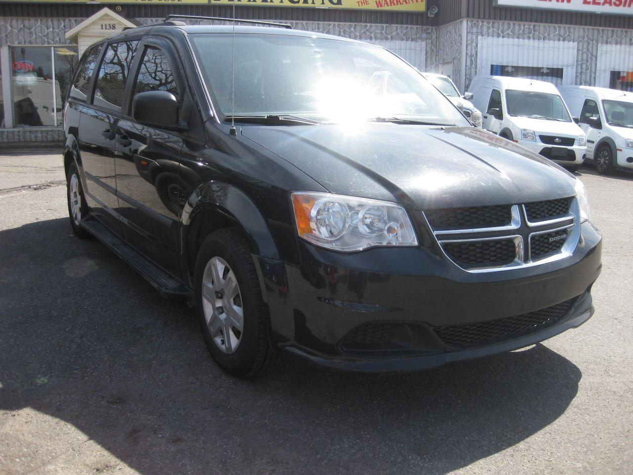 2012 Dodge Grand Caravan SE Stow N Go AC 7 pass 6cyl. PL PM PW