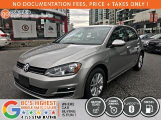 Used 2015 Volkswagen Golf Comfortline - No Dealer Fees / Heated Seats / Local for sale in Richmond, BC