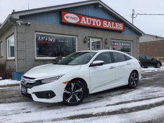 Used 2017 Honda Civic Touring for sale in London, ON