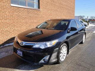 Used 2012 Toyota Camry XLE,4 CYLINDERS, NAVI, CAMERA, LEATHER, ROOF for sale in Oakville, ON