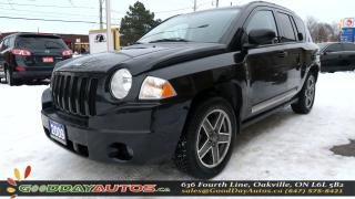 Used 2009 Jeep Compass RockyMountain|LOW KM|NO ACCIDENT|SUNROOF|CERTIFIED for sale in Oakville, ON