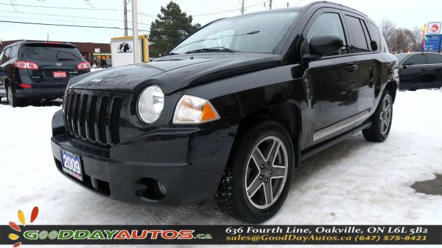 2009 Jeep Compass RockyMountain|LOW KM|NO ACCIDENT|SUNROOF|CERTIFIED