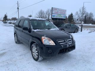 Used 2006 Honda CR-V EX-L for sale in Komoka, ON
