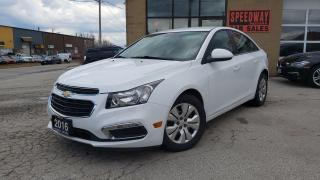 Used 2016 Chevrolet Cruze LT Auto, Camera, Certified for sale in Oakville, ON