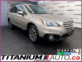 Used 2017 Subaru Outback LIMITED+GPS+EyeSight+Blind Spot+Lane Assist+Leathe for sale in London, ON