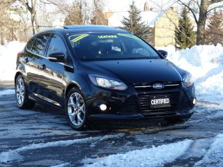 Used 2013 Ford Focus 2TONE LEATHER,TITANIUM,NAVIGATION,REAR-CAM,LOADED, for sale in Mississauga, ON
