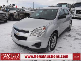 Used 2013 Chevrolet Equinox LS 4D Utility FWD 2.4L for sale in Calgary, AB