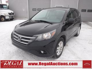Used 2013 Honda CR-V EX-L 4D UTILITY AWD 2.4L for sale in Calgary, AB