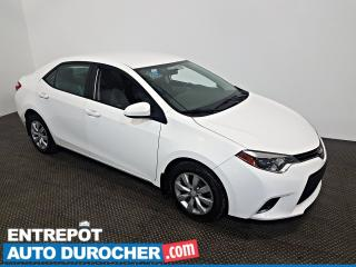 Used 2016 Toyota Corolla Automatique - Air Climatisé for sale in Laval, QC