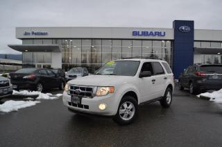 Used 2010 Ford Escape XLT Automatic 2.5L - 4WD. for sale in Port Coquitlam, BC
