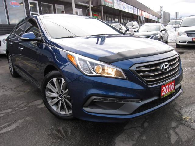 2016 Hyundai Sonata Sport NO ACCIDENTS!!! ONLY 1 PREVIOUS OWNER!!! SPORT TECH - FULLY LOADED