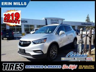 Used 2019 Buick Encore Sport Touring  - Sunroof - Navigation for sale in Mississauga, ON