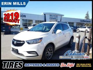 New 2019 Buick Encore Sport Touring  - Sunroof - Navigation for sale in Mississauga, ON