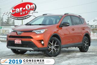 Used 2016 Toyota RAV4 SE AWD LEATHER NAV SUNROOF REAR CAM HTD SEATS for sale in Ottawa, ON